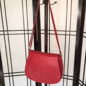 Giani Bernini Nappa Leather Full Flap Saddle Bag